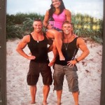 Jenny, Peter och Kristian