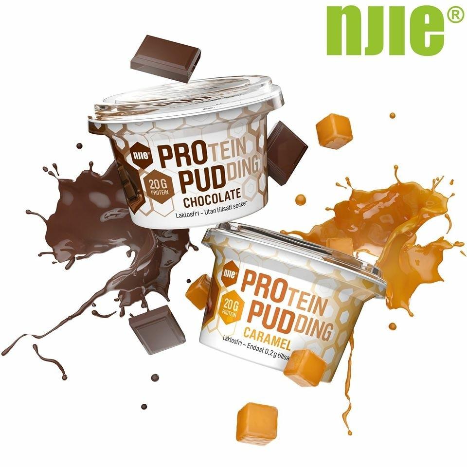 Måste tipsa om njie's nya proteinpudding. Den är laktosfri och innehåller 20g protein. Har testat caramel och den va grymt god.