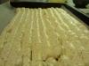 Spritsa marängen för att få vågmönster