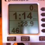 Mitt senaste försök på världsrekordet på 200m
