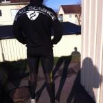 Tights och BS hoodie