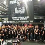 Grymmaste crewgänget MMsport på Lördagsmorgonen, taggade och glada att fånga dagen ;)